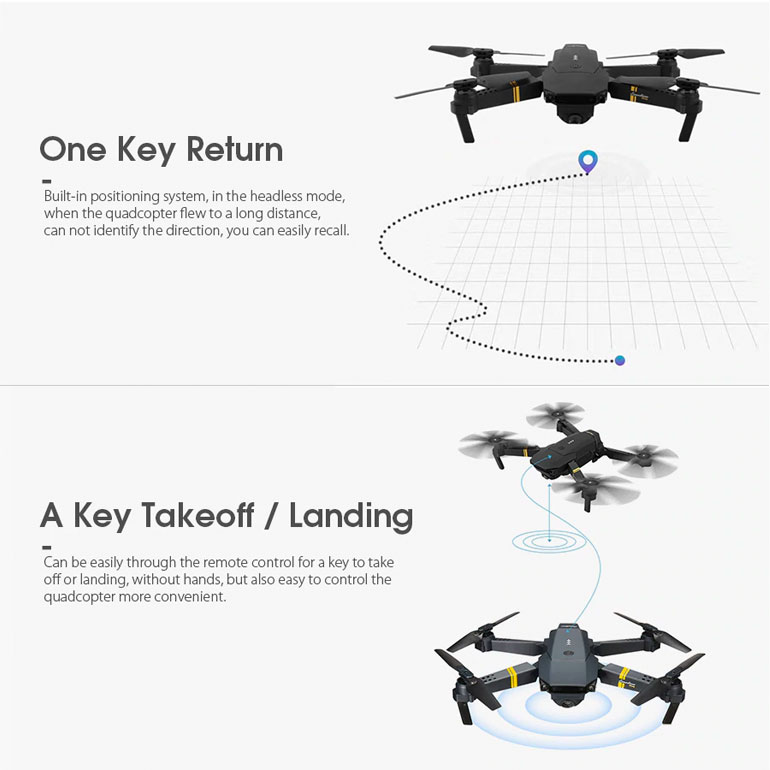 Drone X PRO Specification