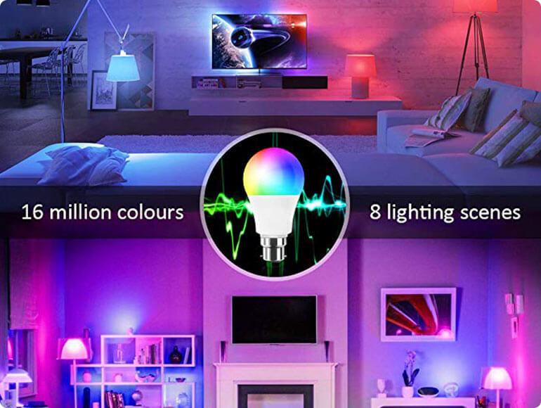 smart light bulb features